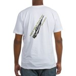 Free Men own rifles#2 Fitted T-Shirt