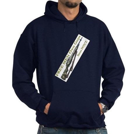 Free Men own rifles#2 Hoodie (dark)