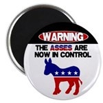 "Asses in Control 2.25"" Magnet (100 pack)"