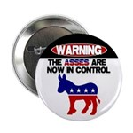 "Asses in Control 2.25"" Button (10 pack)"