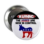 "Asses in Control 2.25"" Button"