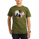 Saddle Fantails Organic Men's T-Shirt (dark)