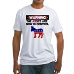 Asses in Control Fitted T-Shirt