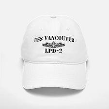 USS VANCOUVER Baseball Baseball Cap