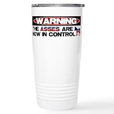 Asses in Control Travel Mug