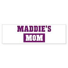 Maddies Mom Bumper Bumper Sticker