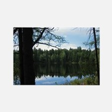 Pond in the Woods Rectangle Magnet