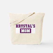 Krystals Mom Tote Bag
