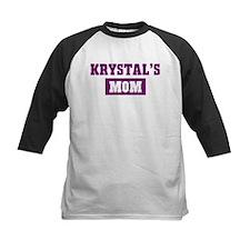 Krystals Mom Tee