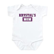 Krystals Mom Infant Bodysuit