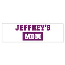 Jeffreys Mom Bumper Bumper Sticker