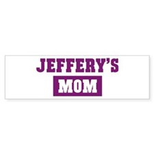 Jefferys Mom Bumper Bumper Sticker