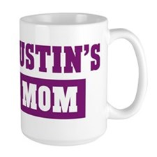 Justins Mom Ceramic Mugs