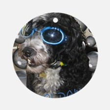Cool Dawg Ornament (Round)