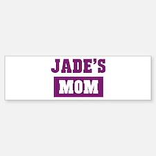 Jades Mom Bumper Bumper Bumper Sticker