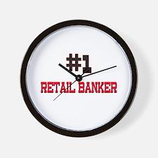 Number 1 RETAIL BANKER Wall Clock