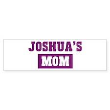 Joshuas Mom Bumper Bumper Sticker