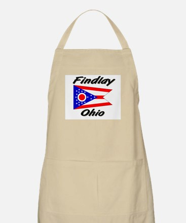 Findlay Ohio BBQ Apron