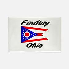 Findlay Ohio Rectangle Magnet