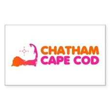 Chatham Cape Cod Rectangle Decal