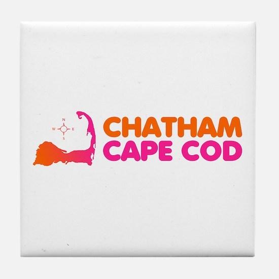 Chatham Cape Cod Tile Coaster
