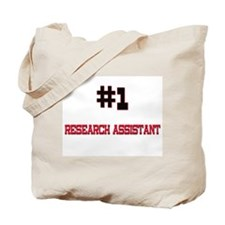 Number 1 RESEARCH ASSISTANT Tote Bag