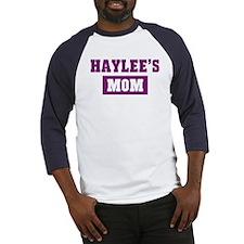Haylees Mom Baseball Jersey