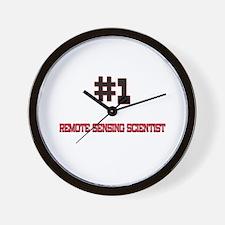 Number 1 REMOTE SENSING SCIENTIST Wall Clock