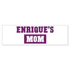 Enriques Mom Bumper Bumper Stickers