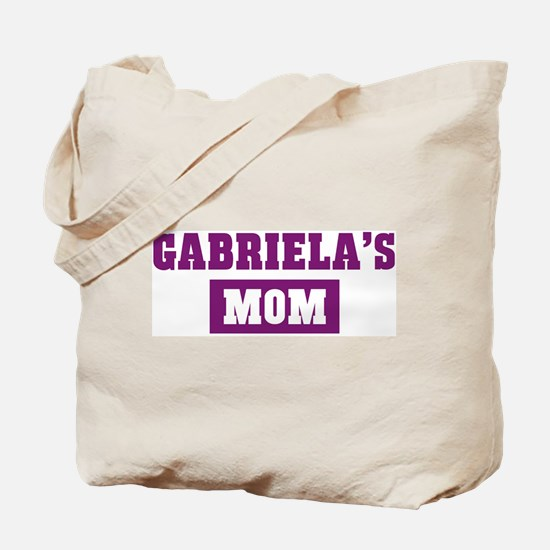 Gabrielas Mom Tote Bag