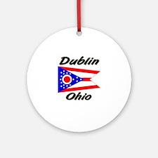 Dublin Ohio Ornament (Round)