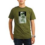Praying Angel Organic Men's T-Shirt (dark)