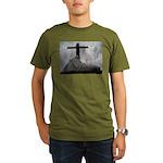 Mary and Jesus Organic Men's T-Shirt (dark)