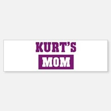 Kurts Mom Bumper Bumper Bumper Sticker