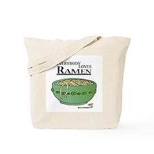 Everybody Loves Ramen (Noodles) Tote Bag