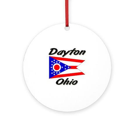 Dayton Ohio Ornament (Round)
