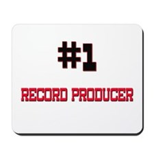 Number 1 RECORD PRODUCER Mousepad