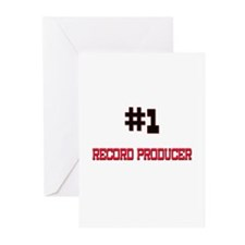 Number 1 RECORD PRODUCER Greeting Cards (Pk of 10)