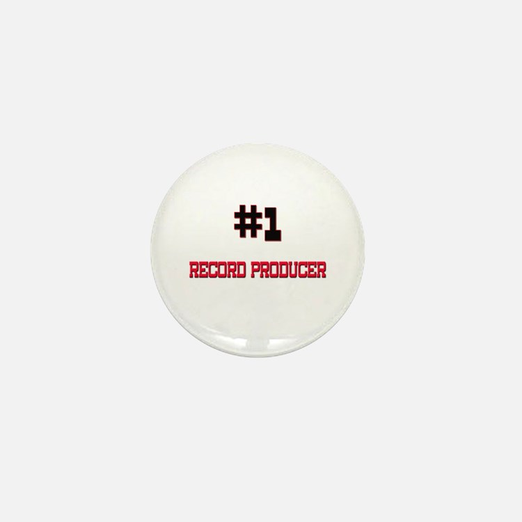 Number 1 RECORD PRODUCER Mini Button