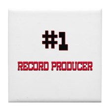 Number 1 RECORD PRODUCER Tile Coaster