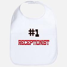 Number 1 RECEPTIONIST Bib