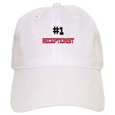 Number 1 RECEPTIONIST Baseball Baseball Cap