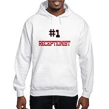Number 1 RECEPTIONIST Hoodie