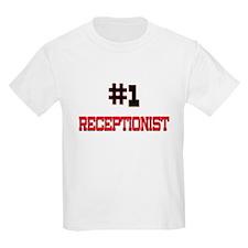 Number 1 RECEPTIONIST T-Shirt