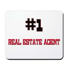 Number 1 REAL ESTATE AGENT Mousepad
