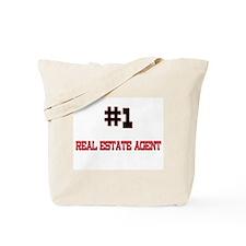 Number 1 REAL ESTATE AGENT Tote Bag