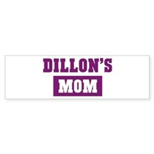 Dillons Mom Bumper Bumper Sticker