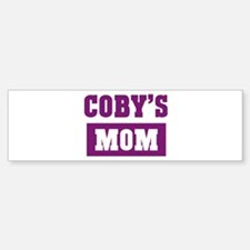 Cobys Mom Bumper Bumper Bumper Sticker