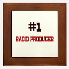 Number 1 RADIO PRODUCER Framed Tile