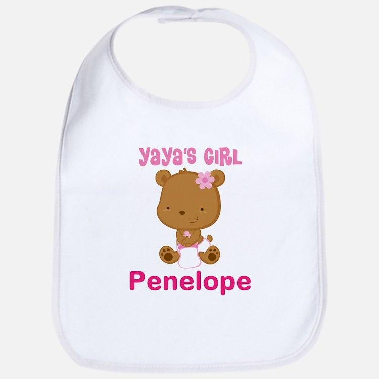 Personalized Yayas Girl Baby Bib
